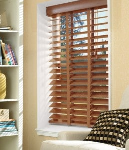 Next Day Bronzed Oak Wood Venetian Blinds With Tapes
