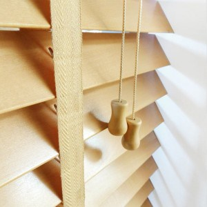cheap next day light oak wood venetian blinds with tapes