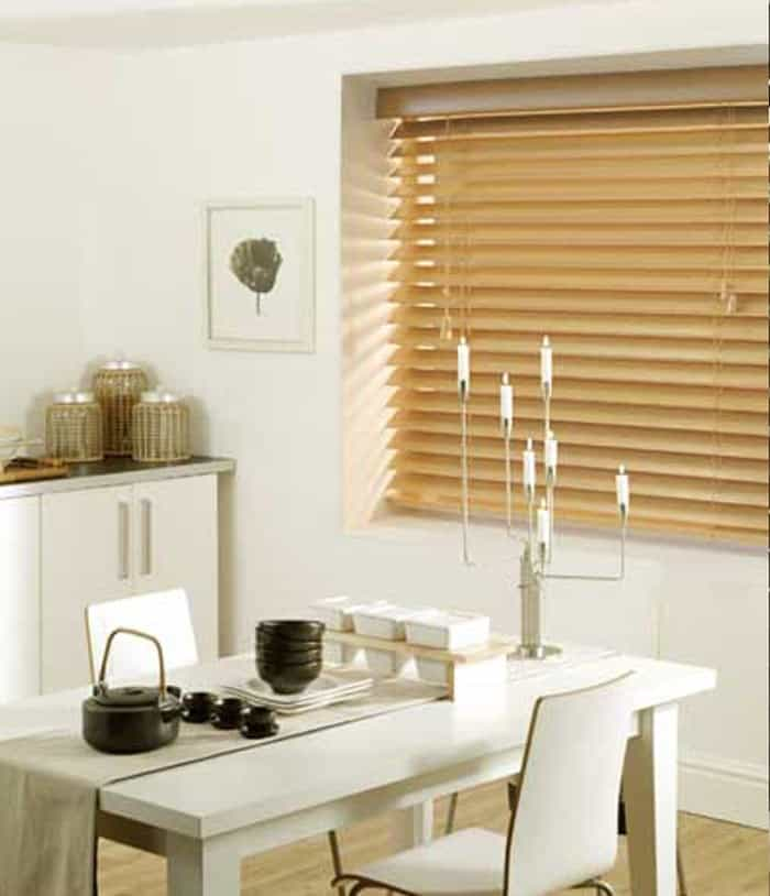 Cheap Next Day Medium Oak Wood Venetian Blinds
