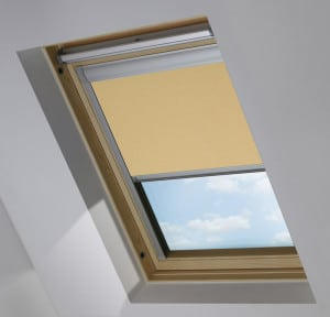 Cheap Beige Rooflite Roof Skylight Blinds