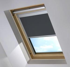 Cheap Dark Grey Keylite Skylight Roof Blind