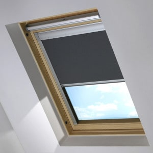 Cheap Dark Grey Keylite Skylight Roof Blind
