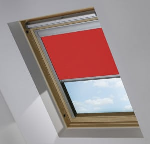 Cheap Red keylite skylight roof blind