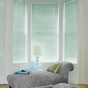 Cheapest Powder Green Aluminium Venetian Blinds