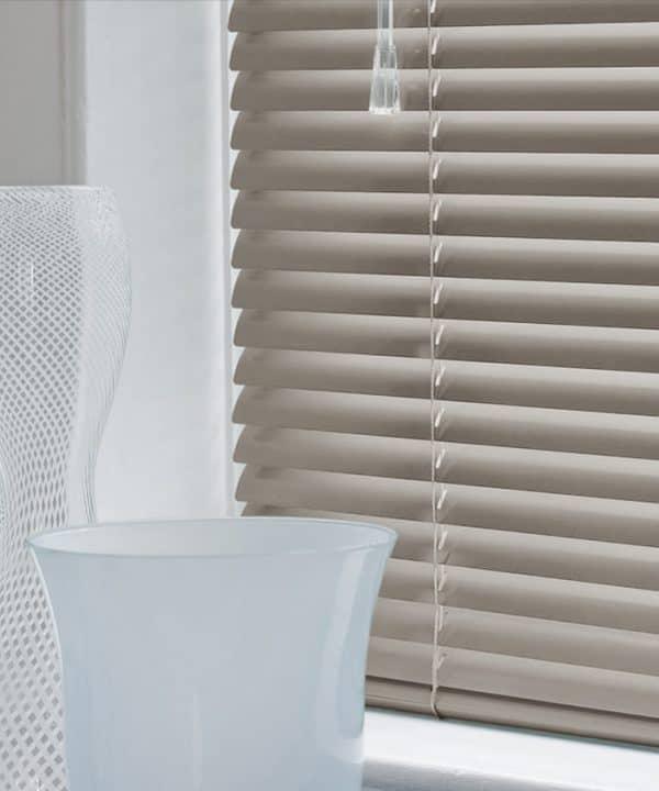 Cheap grey aluminium venetian blinds