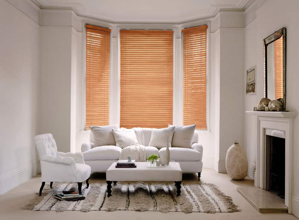 Cheapest Blinds Uk Ltd Premium Burnished Oak Wood