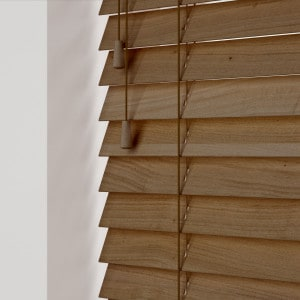 Rowan Wooden Venetian Blinds With Cords