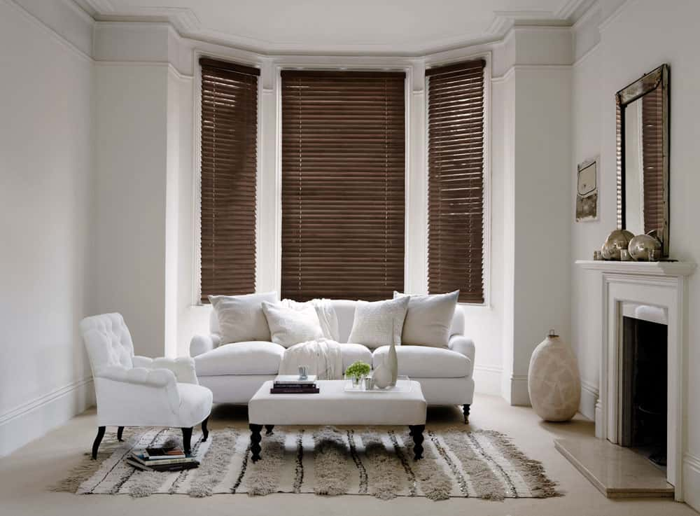 Cheapest Blinds Uk Ltd Premium Walnut Wood Venetians