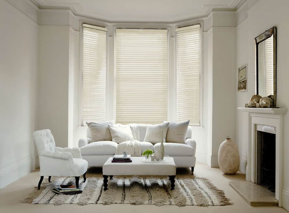 Cheapest Blinds Uk Ltd Premium Ivory Venetians With Cords
