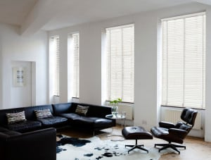 Premium White Wood Venetian Blinds With Tapes