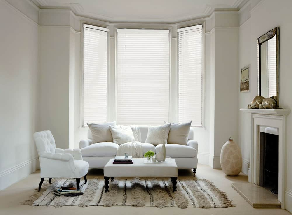 Premium White Wood Venetians With Cords Cheapest