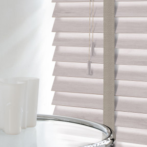 Acacia Wooden Venetian Blinds With Tapes
