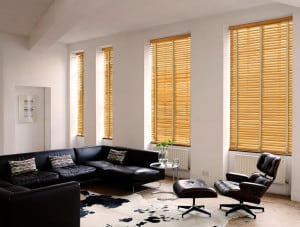 Cabana Wooden venetian Blinds With Tapes