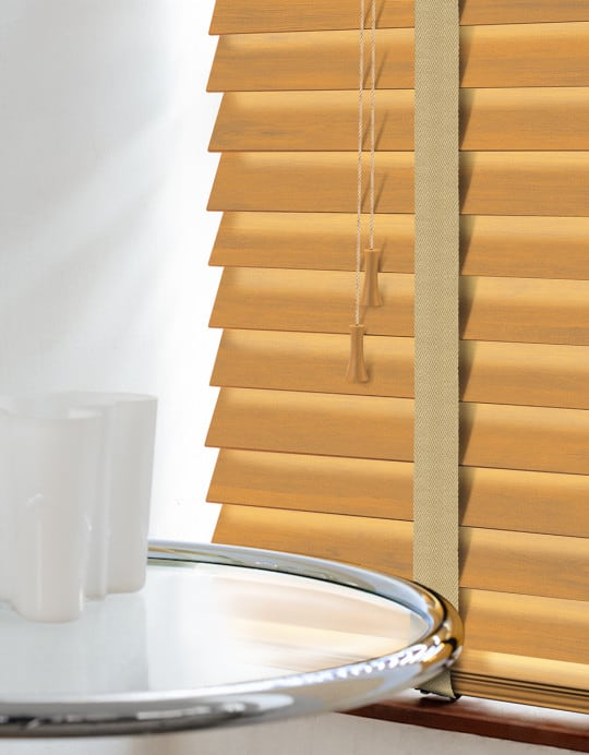 Cabana Wood venetian Blinds With Tapes