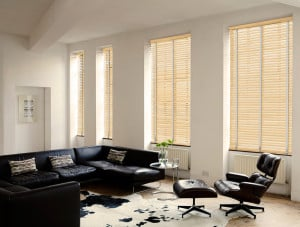 Pine Wooden Venetian Blinds With Tapes