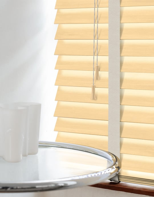 Pine Wood Venetian Blinds With Tapes