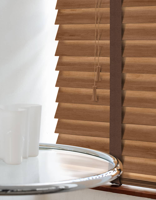 Cheapest Blinds Uk Ltd Premium Rowan Wood Venetians