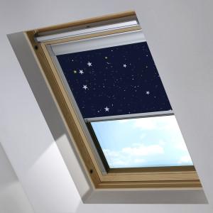 NIght Sky Velux Skylight Roof Blind