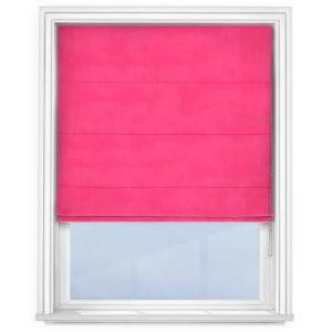 Bright Pink Roman Blind