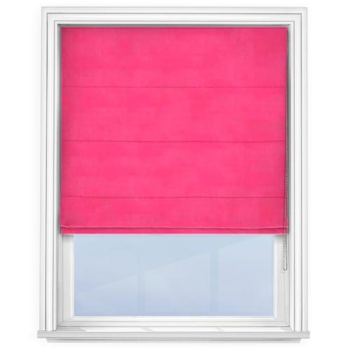 Bright Pink Roman Blind Cheapest Blinds Uk Ltd