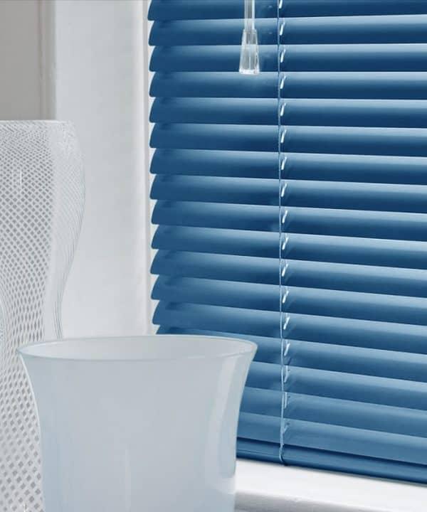 Electra Blue Aluminium Venetian Blinds