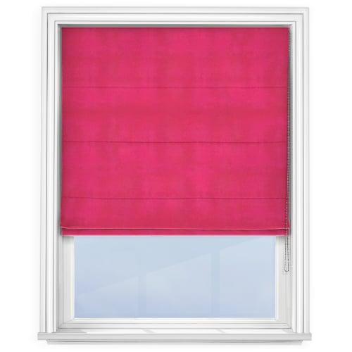 Fuchsia Pink Roman Blind