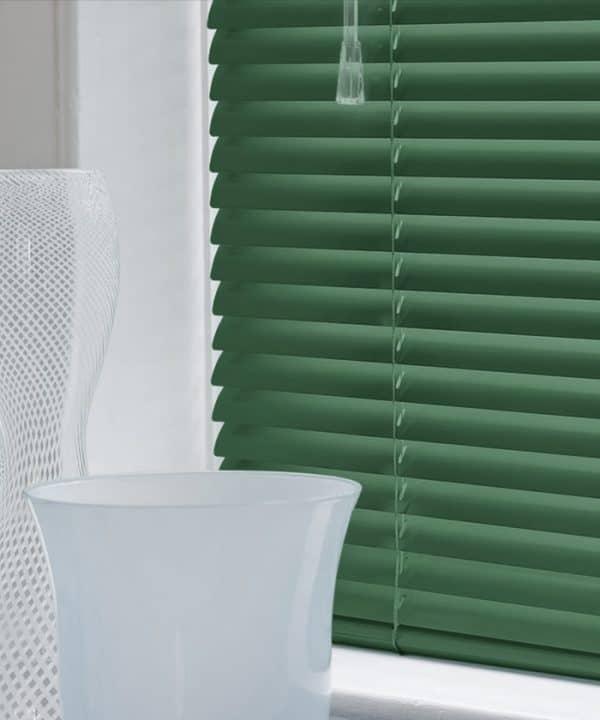 Hunter Green Aluminium Venetian Blinds