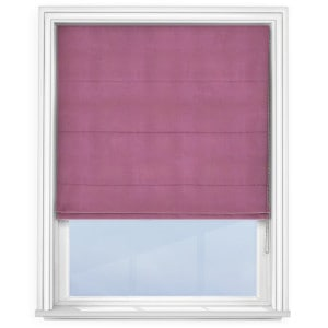 Light Purple Roman Blind