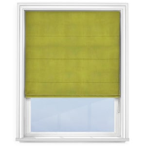 Lime Green Roman Blind
