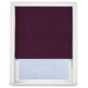 Purple Roman Blind