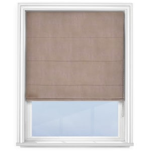 Putty Roman Blind