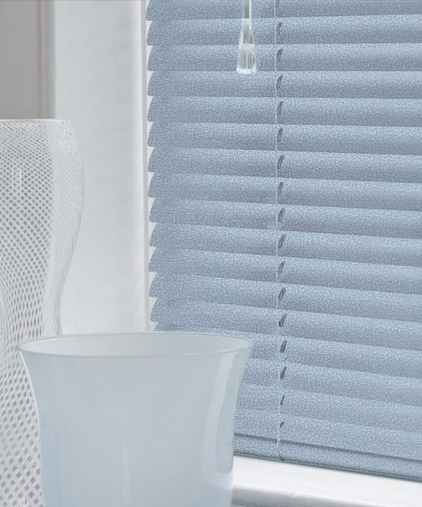 Quartz Blue Aluminium Venetian Blinds