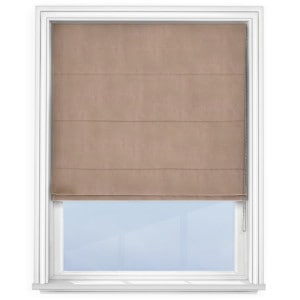 Taupe Roman Blind