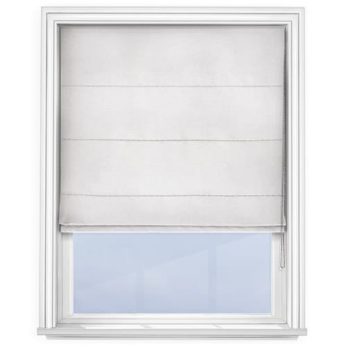 Cheapest Blinds Uk Ltd White Roman Blind