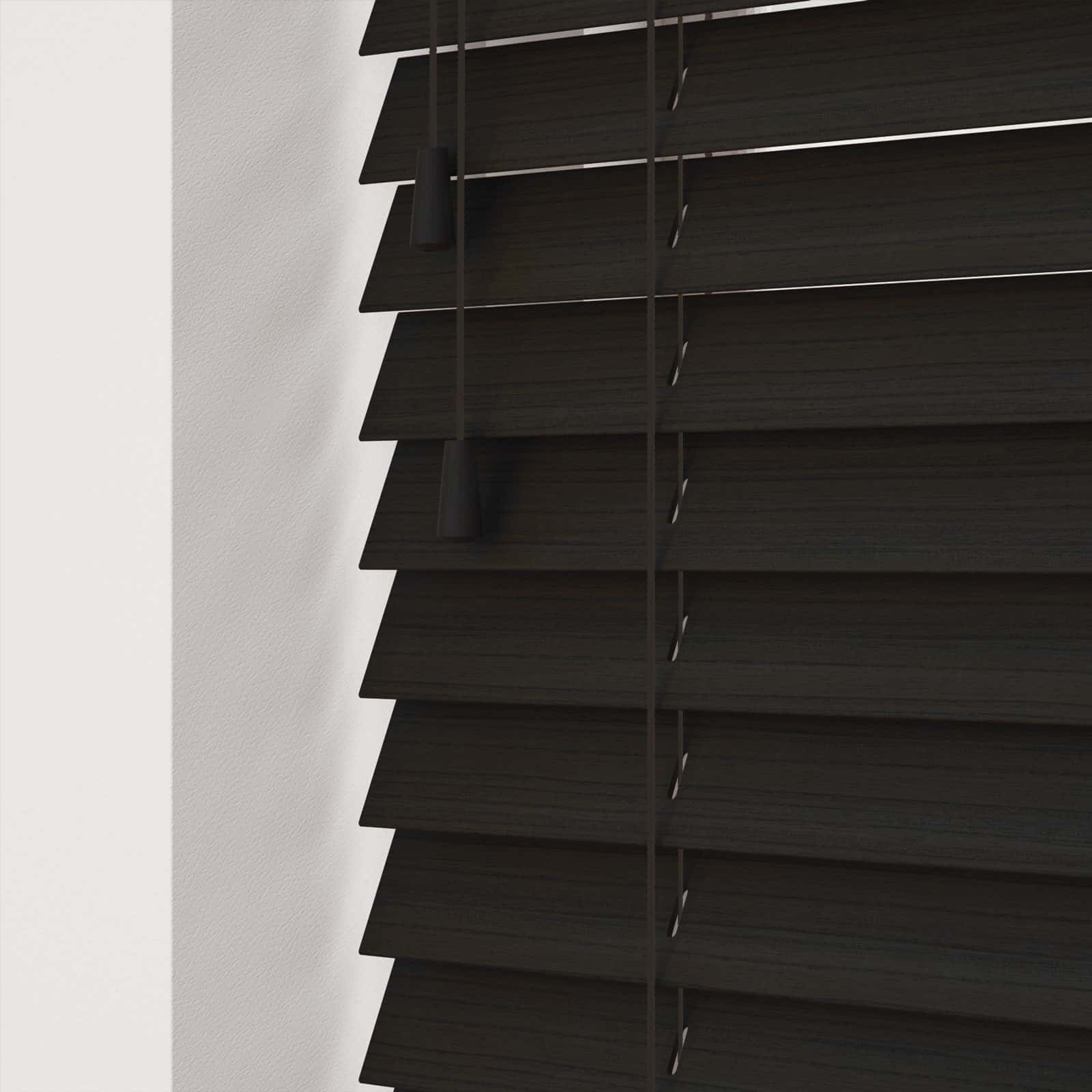Cheapest Blinds Uk Ltd Dark Wenge Faux Wood With Cords