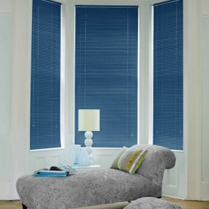 Cheap Electra Blue Aluminium Venetian Blinds
