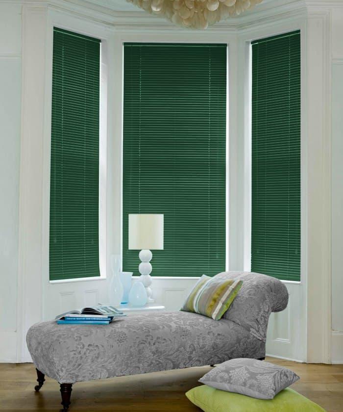 Hunter Green Aluminium Venetian Blinds Cheapest Blinds Uk Ltd