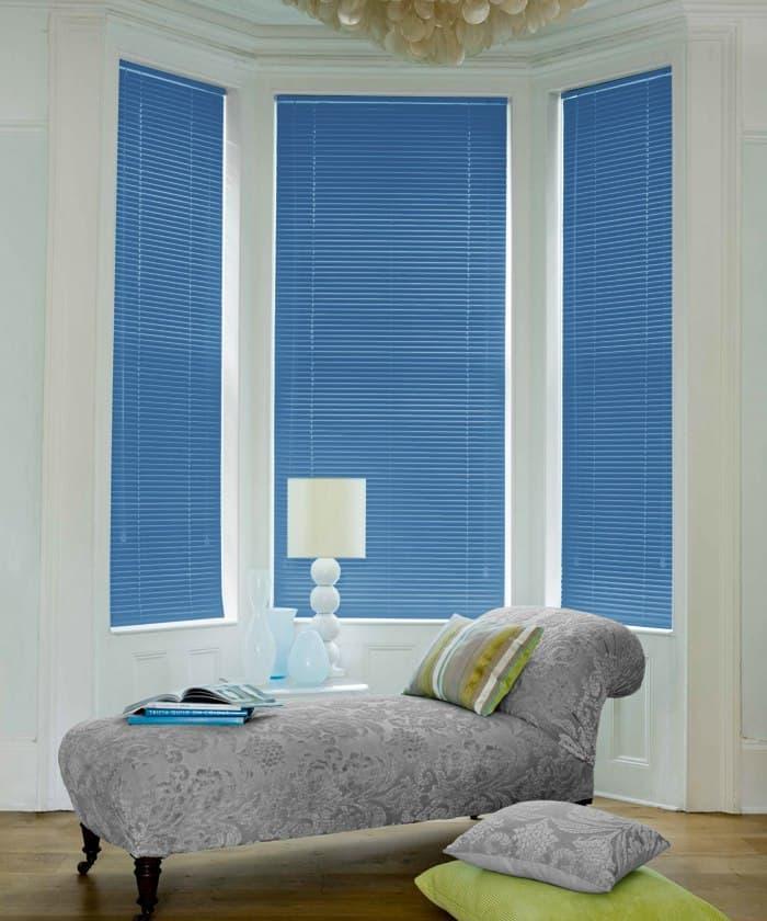 Cheapest Blinds Uk Ltd Ocean Blue Aluminium Venetian Blinds