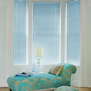 Cheap Pastel Blue Aluminium Venetian Blinds