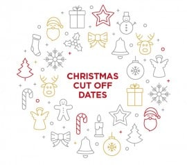 xmas ordering cut off dates