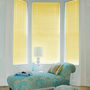 Cheapest Yellow Aluminium Venetian Blinds