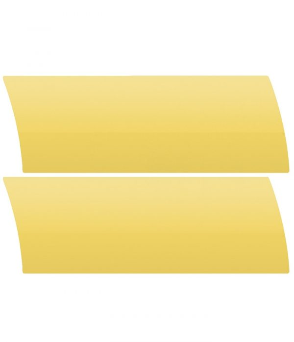 Yellow Aluminium Venetian Blinds Colour Sample