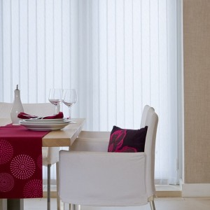 cheap bright white vertical blinds
