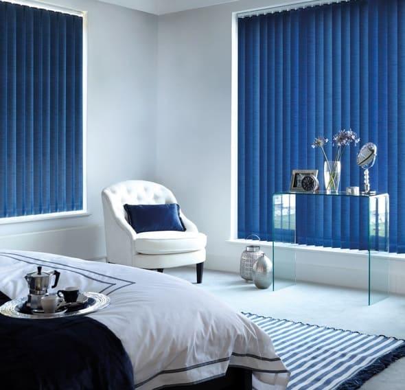 Cheapest Blinds Uk Ltd Turquoise Vertical Blind