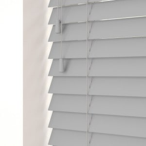 Dove Grey Wooden venetian Blinds