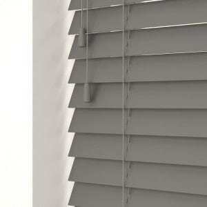 Urban Grey Wood Venetian Blinds