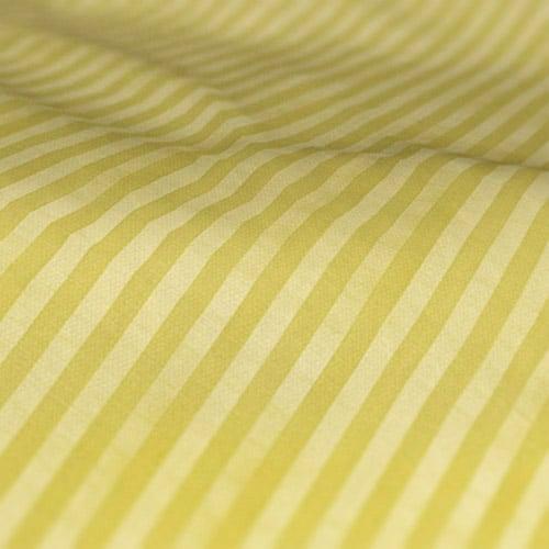 Fryetts Mono Stripe Lime Green Roman Blind Colour Sample