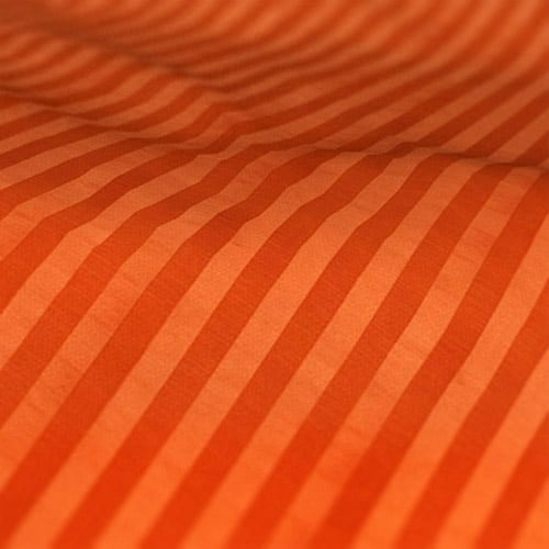 Fryetts Mono Stripe Spice Orange Roman Blind Colour Sample