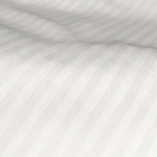 Fryetts Mono Stripe White Roman Blind Fabric Sample