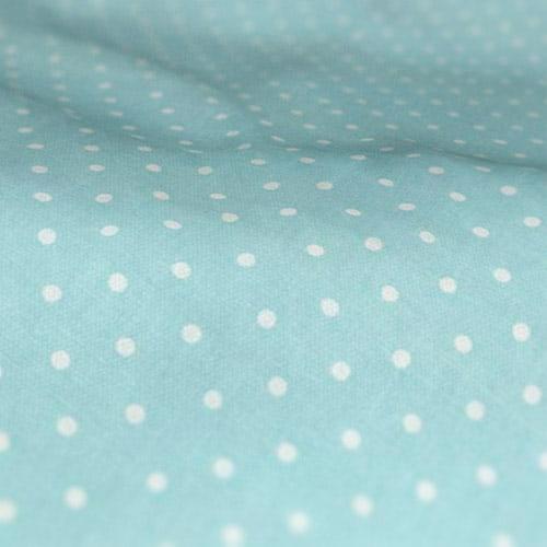Roman Blinds Prestigious Textiles Full Stop Aqua Colour Sample